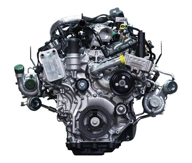 2.7L EcoBoost Twin-Turbocharged V6