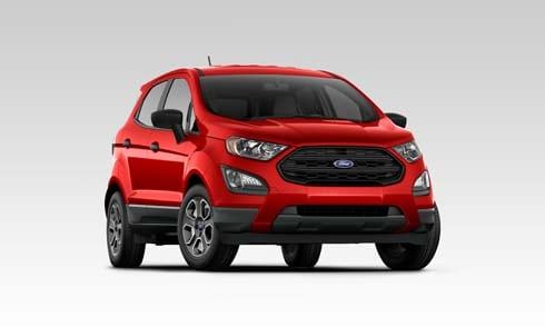 Red 2019 Ford EcoSport SE