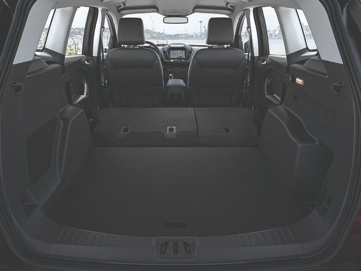 2019 Ford Escape interior cargo room