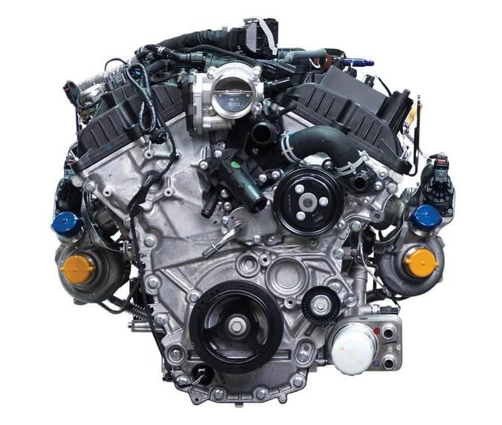 H.O. EcoBoost® Twin-Turbocharged V6