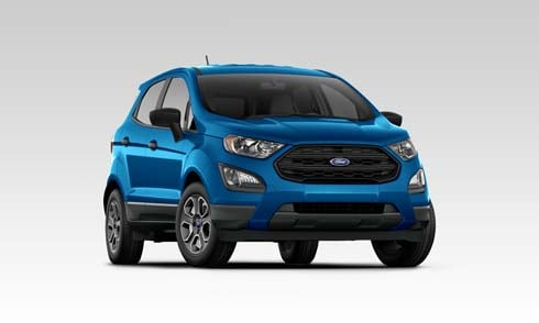 Blue 2019 Ford EcoSport S