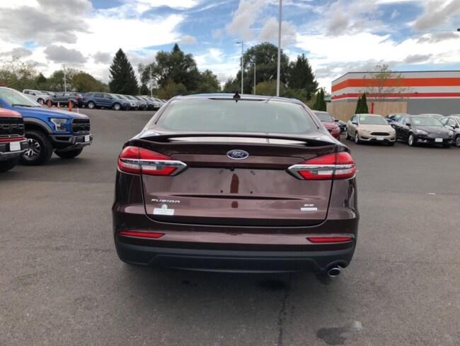 New 2019 Ford Fusion SE in Rich Copper Metallic TC For Sale in