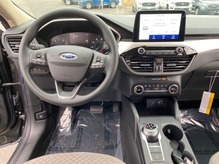 2020 Ford Escape interior dashboard view at Greenbrier Ford
