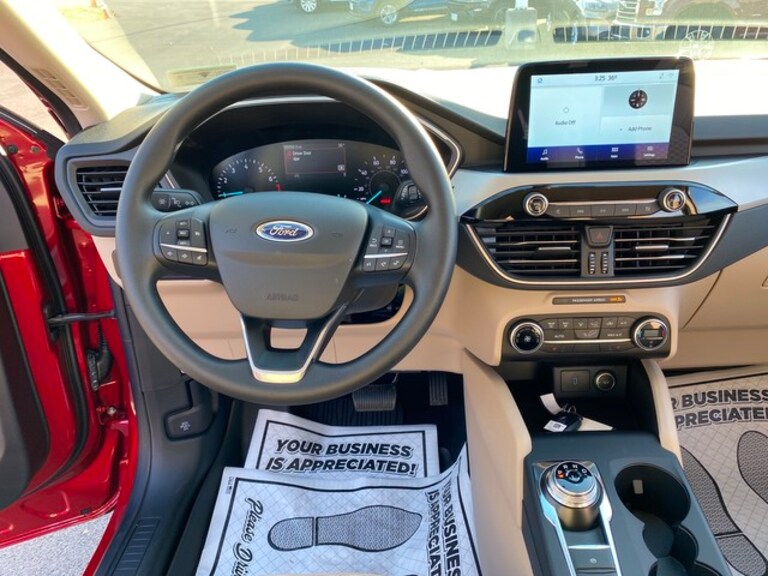 2020 Ford Escape Interior dashboard available at Greenbrier Ford