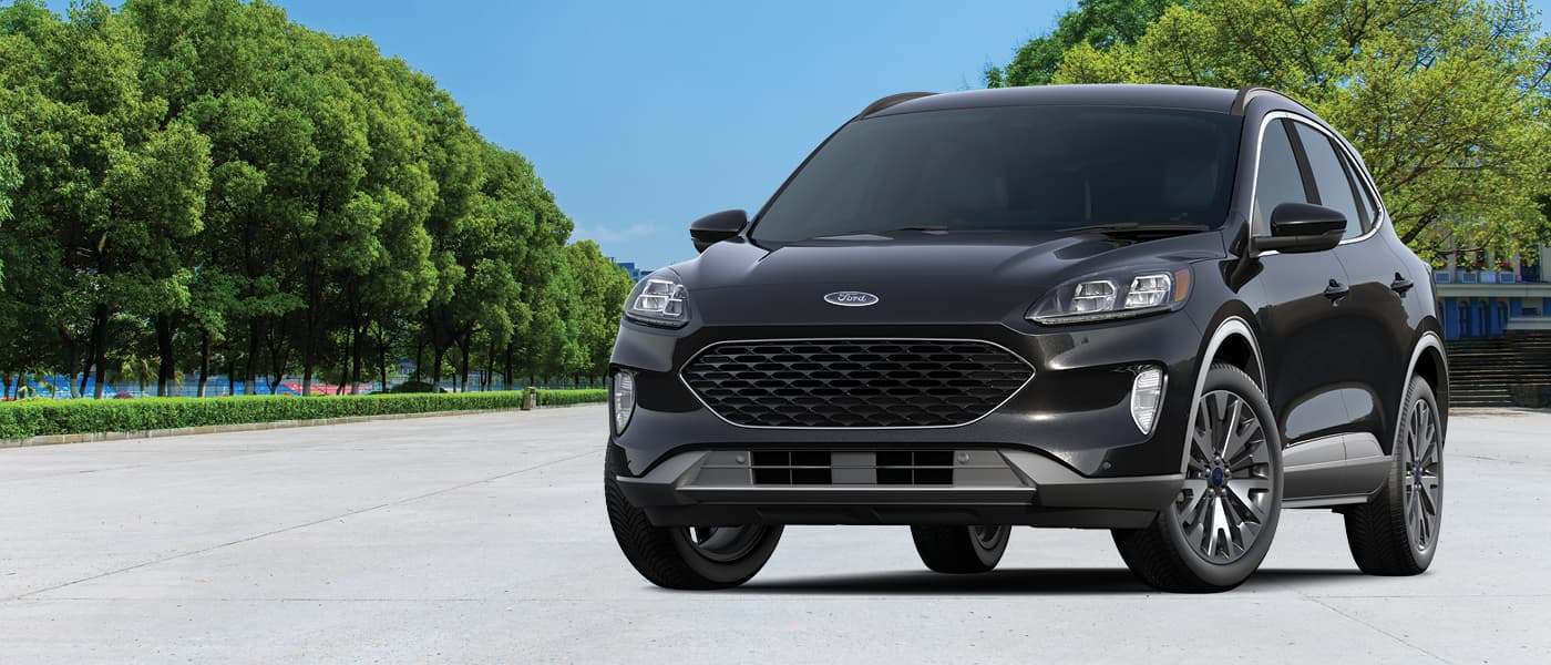 2020 Ford Escape in a park