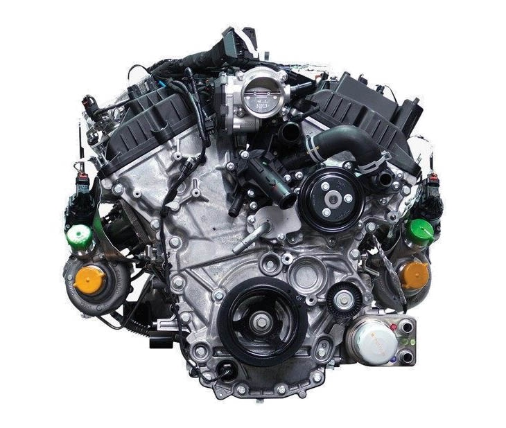 3.5L EcoBoost® Twin-Turbocharged V6