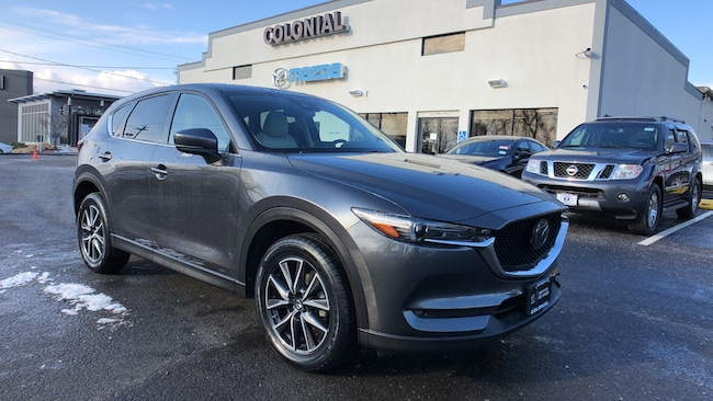 Certified Used 2017 Mazda CX-5 Grand Touring AWD SUV w/ GT PREMIUM PKG 4WD Sport Utility Vehicles Danbury