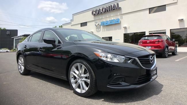 Certified Used 2016 Mazda Mazda6 i Touring SEDAN 4-door Mid-Size Passenger Car Danbury
