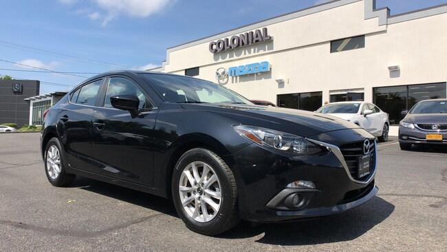 Certified Used 2016 Mazda Mazda3 i Touring SEDAN w/ POPULAR EQUIPMENT PKG SEDAN 4-door Compact Passenger Car Danbury