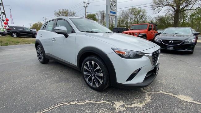Certified Used 2019 Mazda CX-3 Touring AWD SUV w/ PREFERRED EQUIPMENT PKG 4WD Sport Utility Vehicles Danbury