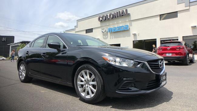Certified Used 2016 Mazda Mazda6 i Sport SEDAN 4-door Mid-Size Passenger Car Danbury
