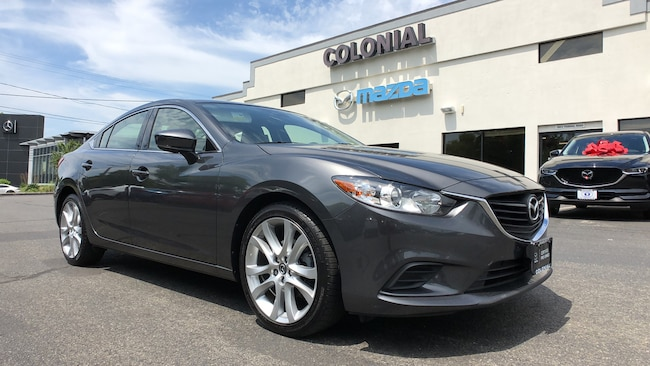 Used 2017 Mazda Mazda6 Touring SEDAN 4-door Mid-Size Passenger Car in Danbury