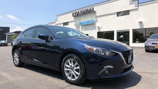 Certified Used 2016 Mazda Mazda3 i Grand Touring Hatchback 4-door Mid-Size Passenger Car Danbury