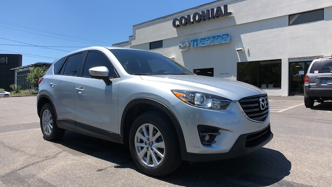 Certified Used 2016 Mazda CX-5 Touring AWD SUV w/ MOONROOF-BOSE PKG 4WD Sport Utility Vehicles Danbury