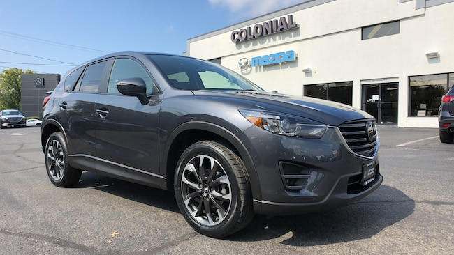 Certified Used 2016 Mazda CX-5 Grand Touring AWD SUV w/ GT TECH + I-ACTIV PKG 4WD Sport Utility Vehicles Danbury
