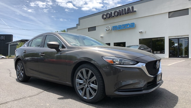 Certified Used 2018 Mazda Mazda6 Touring 4-door Mid-Size Passenger Car Danbury