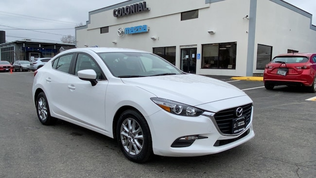 Certified Used 2017 Mazda Mazda3 Sport SEDAN 4-door Compact Passenger Car Danbury
