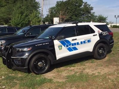 Hanover Police Dept. Ford PIU