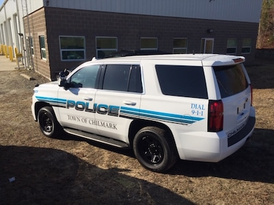 Chilmark Police Dept. Chevy Tahoe