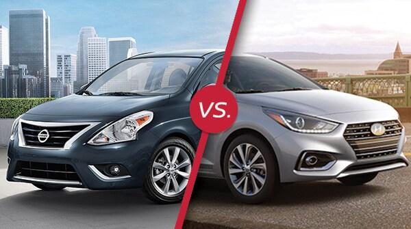 Comparison: 2018 Nissan Versa vs 2018 Hyundai Accent