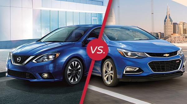 Comparison: 2018 Nissan Sentra vs 2018 Chevrolet Cruze