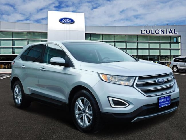 2015 Ford Edge SEL All Wheel Drive With Navigation SUV
