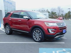 2017 Ford Explorer 4 Wheel Drive With Navigation Sport Utility