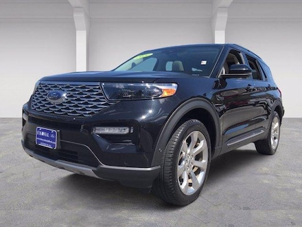 2020 Ford Explorer Platinum 4WD With Nav Sport Utility