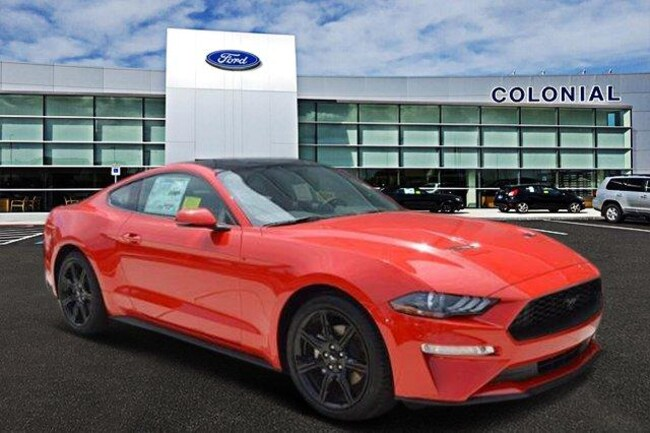 2018 Ford Mustang Ecoboost Premium Coupe 6 Speed Manual With Navigat Coupe