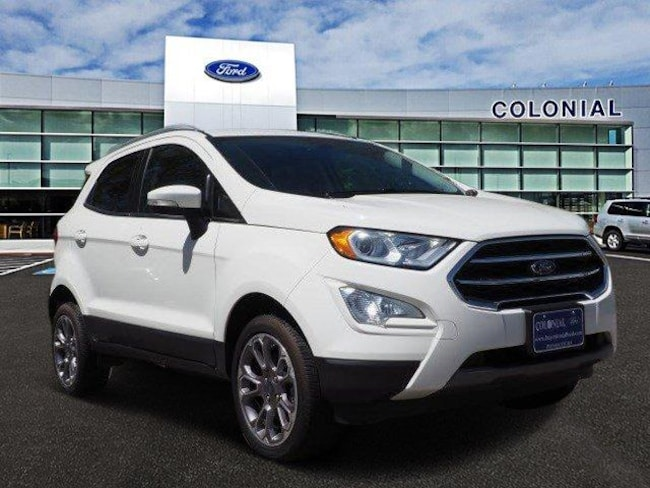 2018 Ford EcoSport Titanium 4 Wheel Drive With Nav Sport Utility