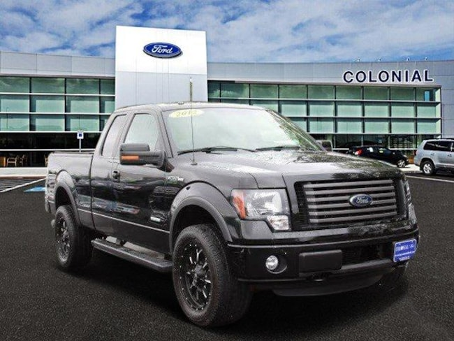 2012 Ford F-150 Supercab FX4 4 Wheel Drive Extended Cab Pickup