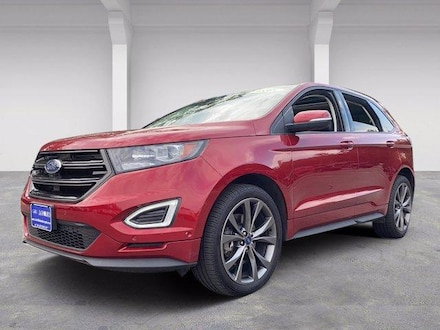 2018 Ford Edge Sport AWD With Nav Sport Utility