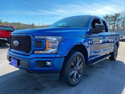 2018 Ford F-150 Supercab XLT 4WD Extended Cab Pickup