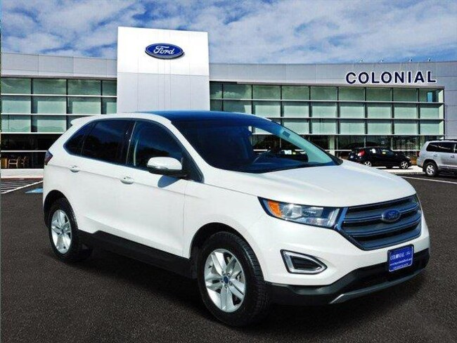 2016 Ford Edge SEL All Wheel Drive With Nav Sport Utility