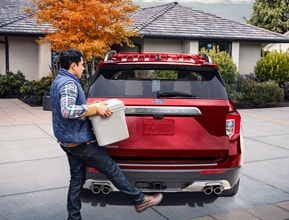 Available Hands-Free, Foot-Activated Liftgate