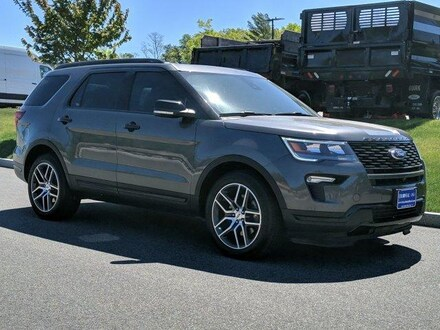 2018 Ford Explorer Sport 4WD With Nav Sport Utility