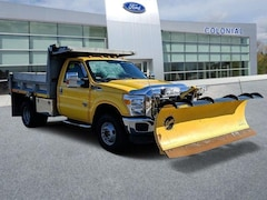 2015 Ford Super Duty F-350 DRW XL Regularcab 4WD Dump With Plow Regular Cab Chassis-Cab