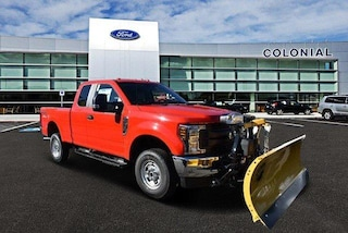 2019 Ford F-250 XL Supercab 4WD With Plow Extended Cab Pickup