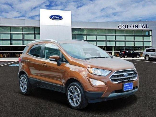2018 Ford EcoSport Titanium 4 Wheel Drive With Navigat Sport Utility