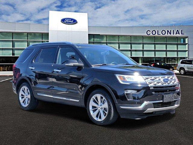 2019 Ford Explorer Limited 4WD With Nav Sport Utility