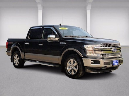 2018 Ford F-150 Supercrew Cab 4WD With Nav Crew Cab Pickup