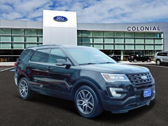 2016 Ford Explorer Sport 4 Wheel Drive With Navigation Sport Utility
