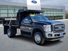 2016 Ford Super Duty F-550 DRW XL Regularcab 4WD Dump Truck Regular Cab Chassis-Cab
