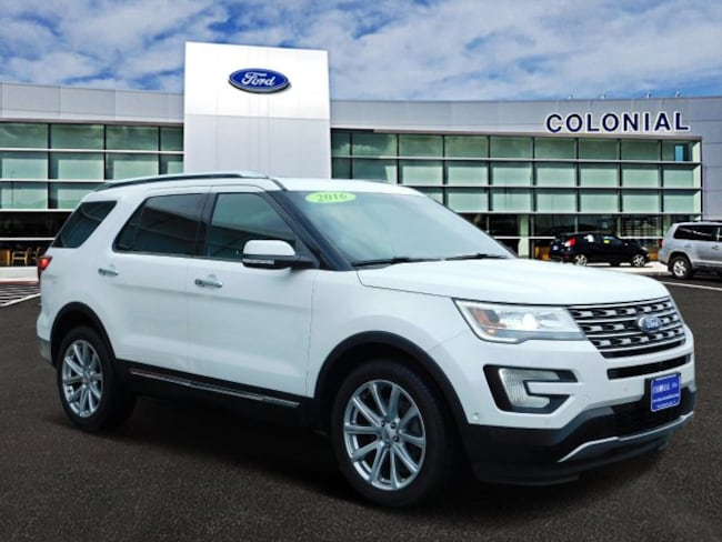 2016 Ford Explorer Limited 4 Wheel Drive With Navigation SUV