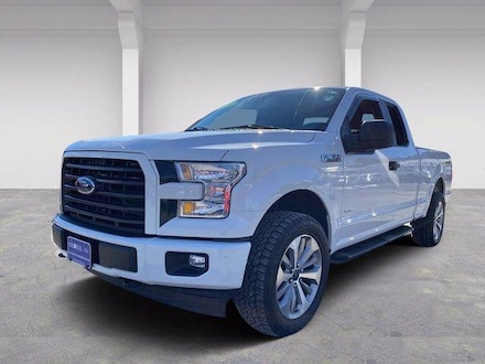 2017 Ford F-150 STX Supercab 4WD Extended Cab Pickup