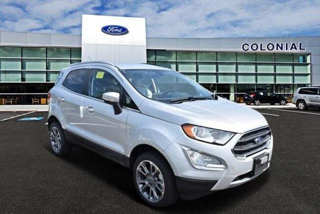 2018 Ford EcoSport Titanium 4 Wheel Drive With Navigation SUV
