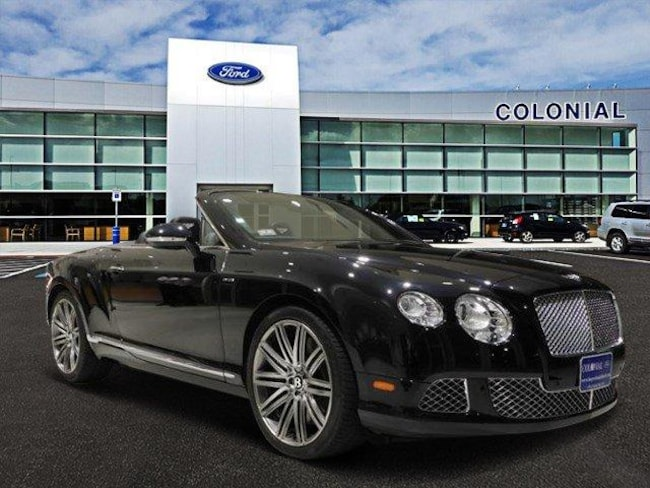 2014 Bentley Continental GT Speed Convertible With Navigation Convertible