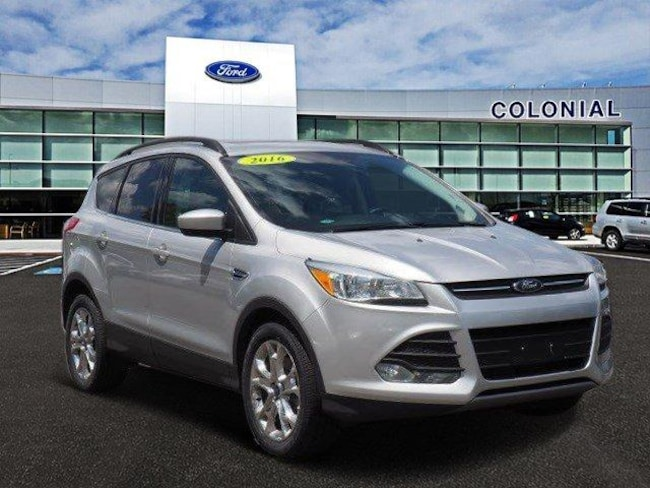 2016 Ford Escape SE 4 Wheel Drive With Nav Sport Utility