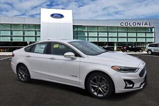 2019 Ford Fusion Hybrid Titanium FWD Car