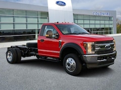 2019 Ford F-550 Chassis XLT 4WD Reg Cab 169 WB 84 CA Regular Cab Chassis-Cab